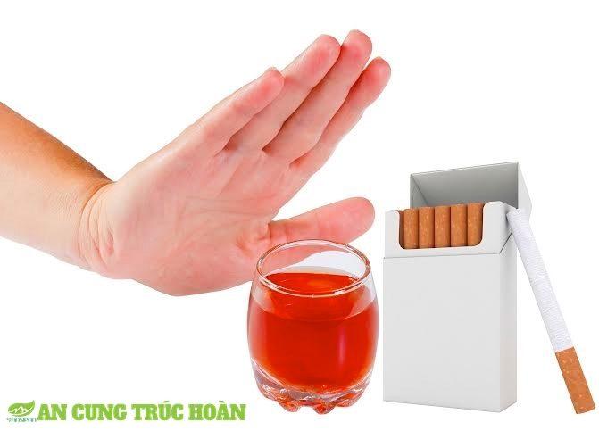 Đột quỵ do thuốc lá, rượu bia